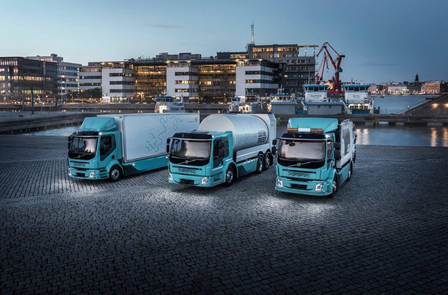 Volvo Elektro-Lkw: Verkaufsstart in Österreich