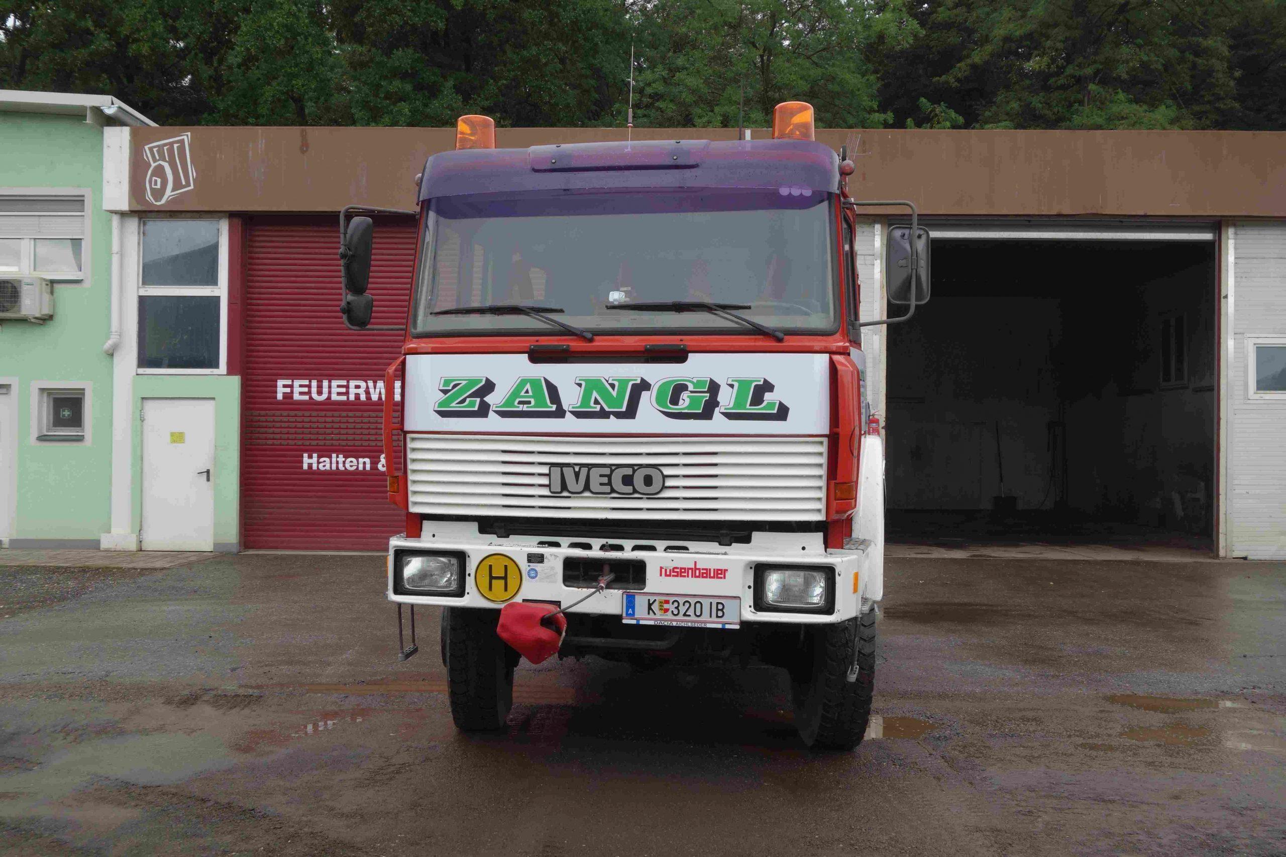 Iveco TLFA 190-25 V8 4x4, Baujahr 1992.