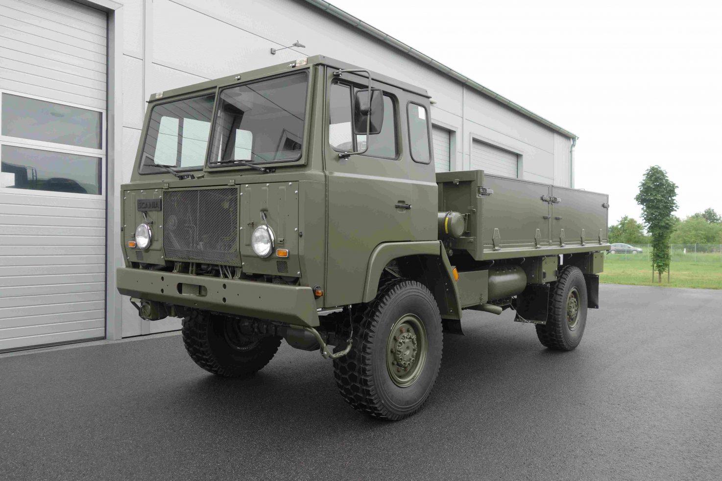 Scania SBA 111 4×4
