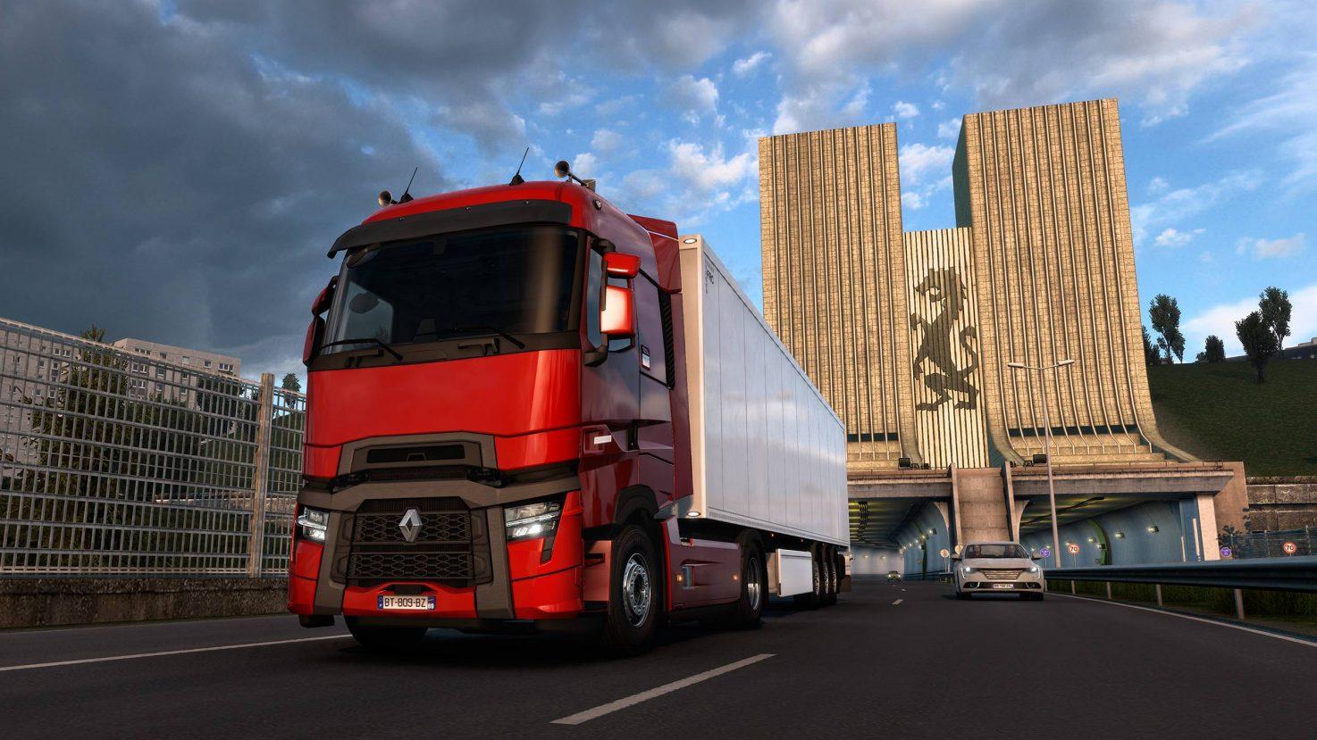 Renault Trucks: Spielerische Premiere