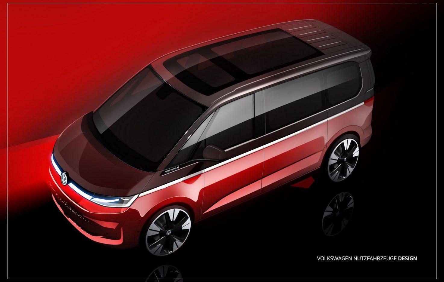 So sieht der neue VW Transporter aus!