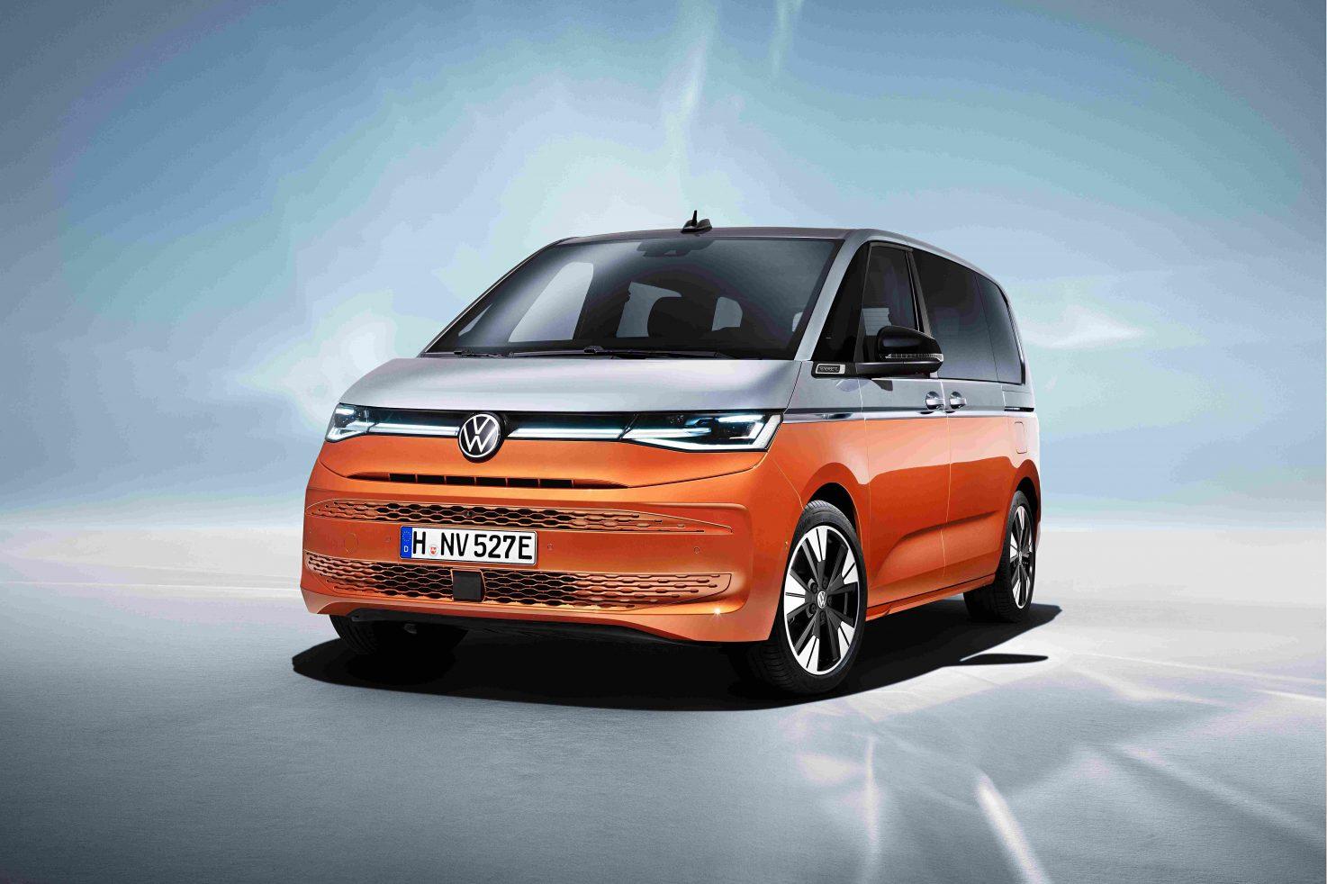 Bulli der Zukunft: Das erste Gesicht des VW T7