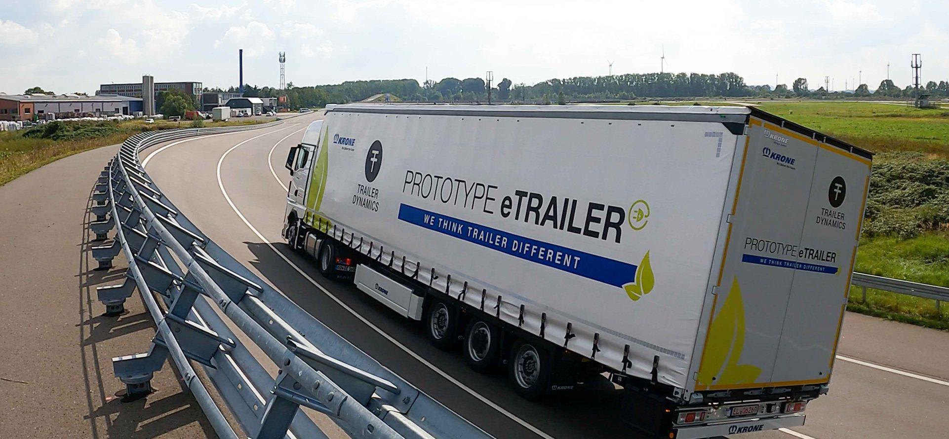 Dank E-Trailer: Hybridantrieb im Fernverkehr
